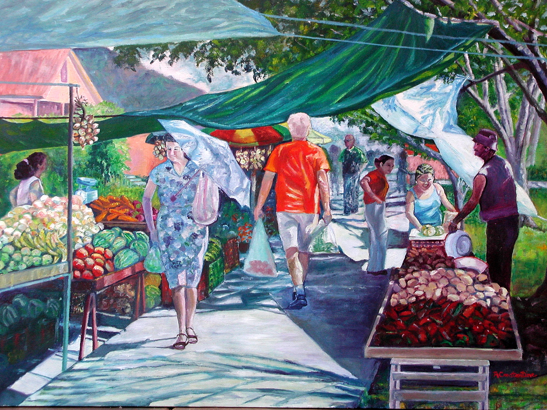 Essay on The Market Scene In My Town For School Students